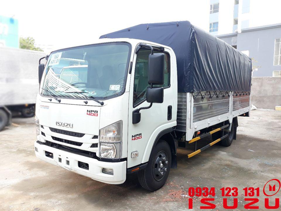 xe tải isuzu 3t5 mui bạt