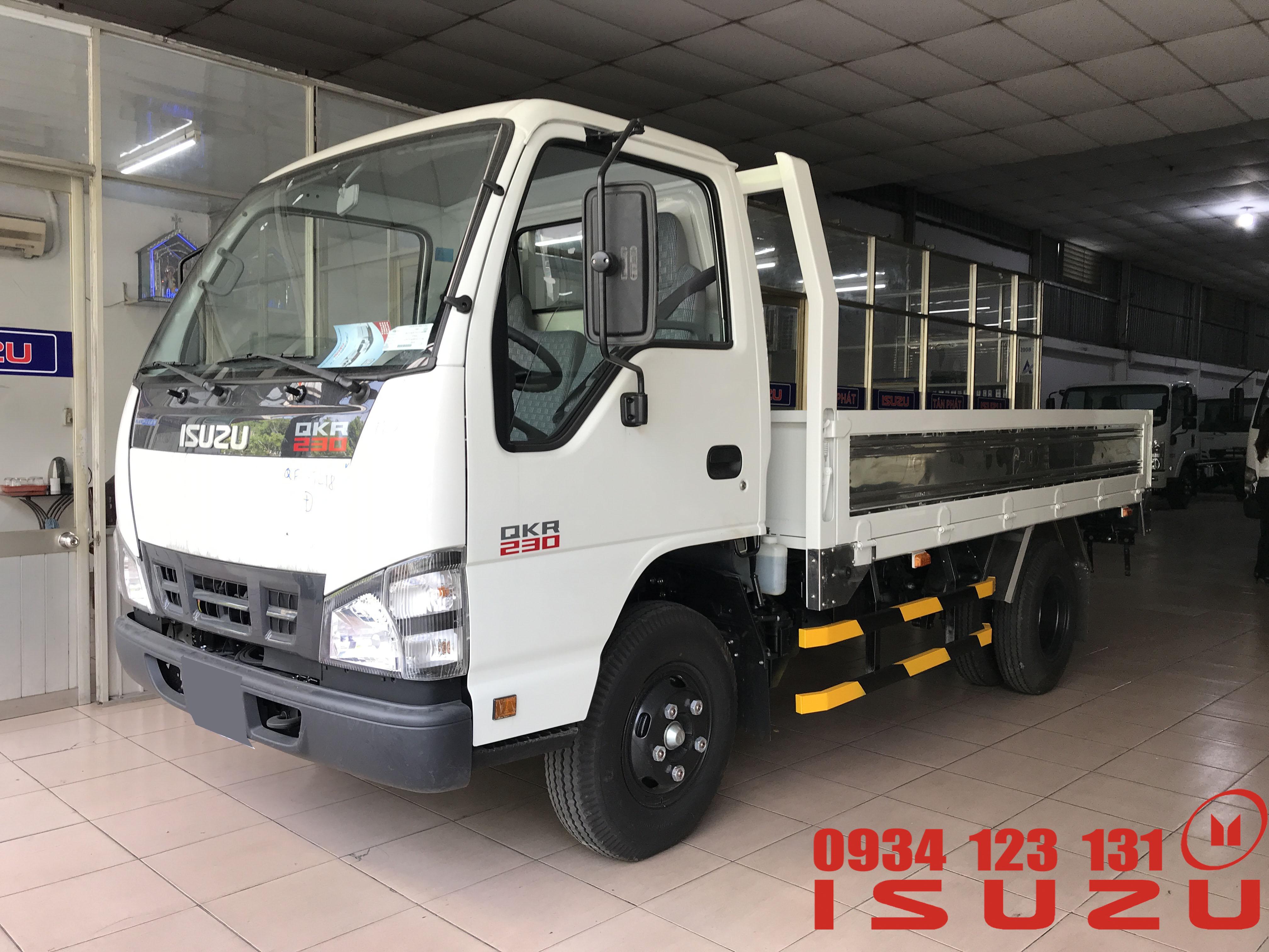 xe tải isuzu 1t4 thùng lửng