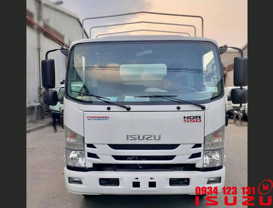 xe tải isuzu 5t5 mui bạt 2