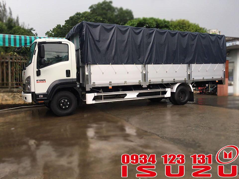 xe tải isuzu 6t5 mui bạt