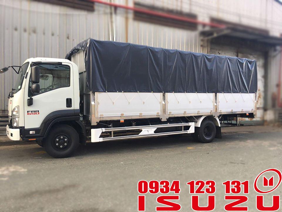 xe tải isuzu 6.5t mui bạt