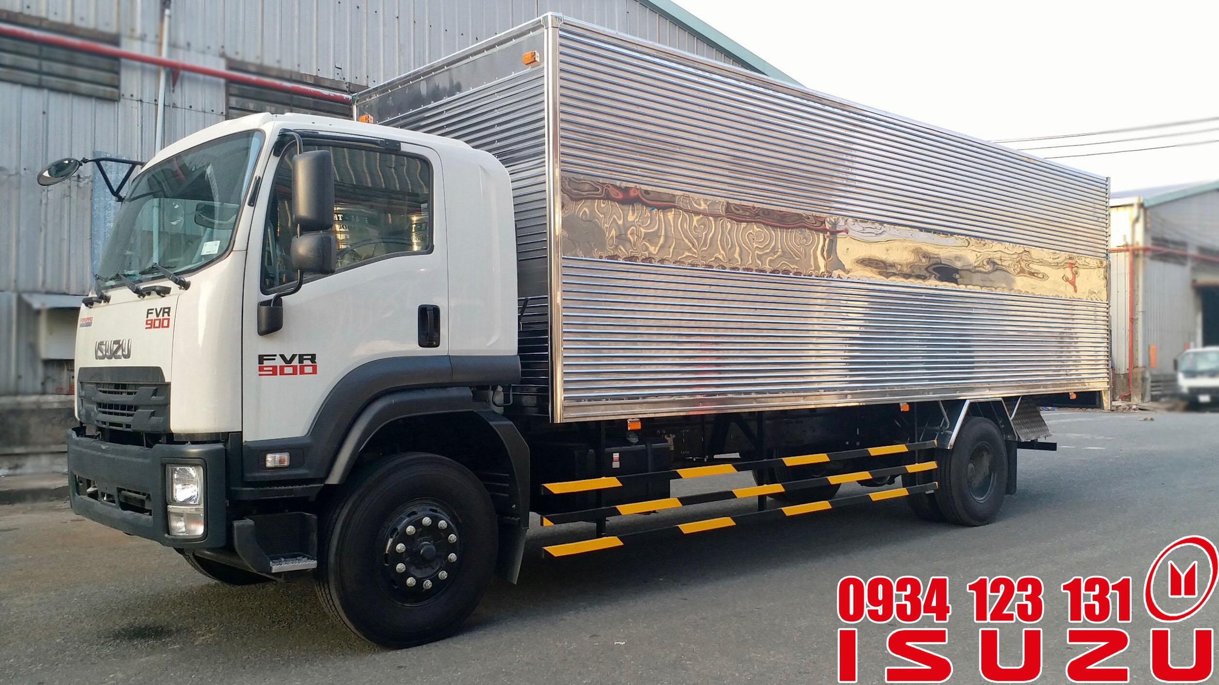 xe tải isuzu 7t5 thùng 9m6