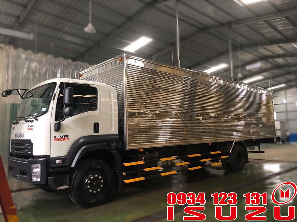 xe tải isuzu 7.5 thùng 9m6
